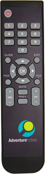 HRC-540 Hospitality Remote Control