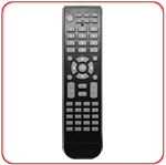 HRC-540 Custom and Hospitality Remote Control, programmable
